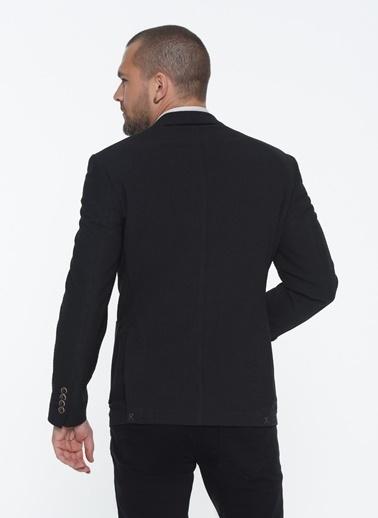 Beymen Business 4B0420200006 Slim Fit Ceket Desenli Füme